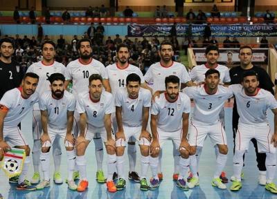 اعلام اسامی بازیکنان دعوت گردیده به اردوی تدارکاتی تیم ملی فوتسال