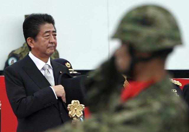شینزو آبه مجددا به اصلاح قانون اساسی ژاپن متعهد شد