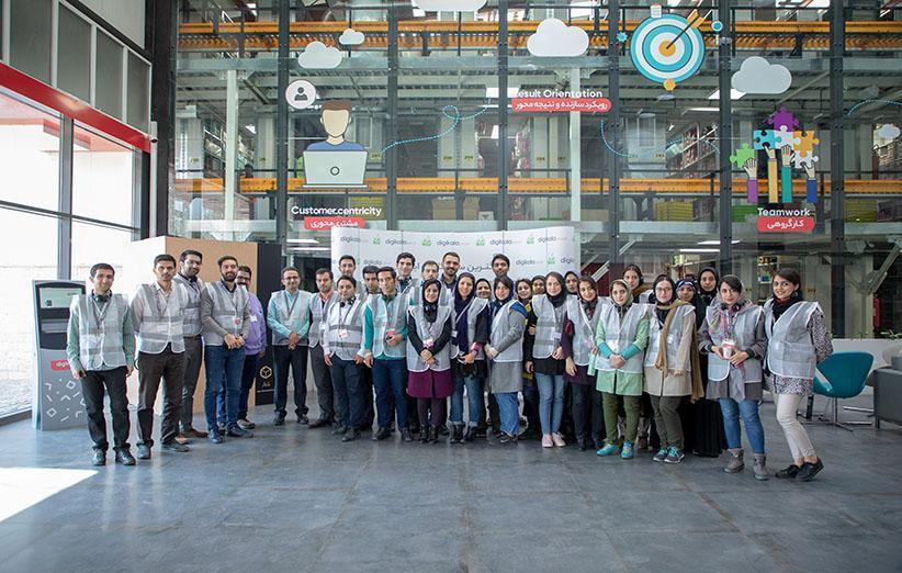 بازدید دانش آموختگان طرح کیمیا از مرکز پردازش خبرنگاران