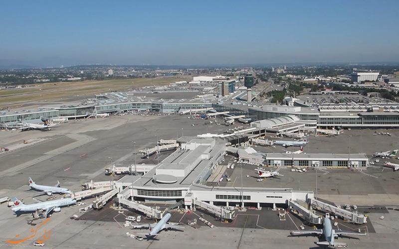 آشنایی با فرودگاه بین المللی ونکوور کانادا