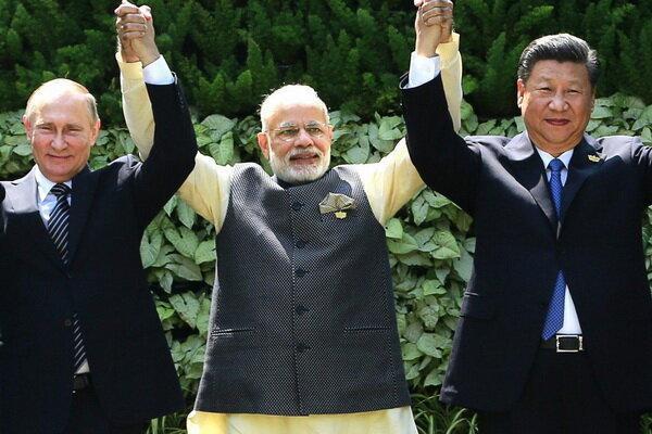 نشست سه جانبه سران روسیه، چین و هند