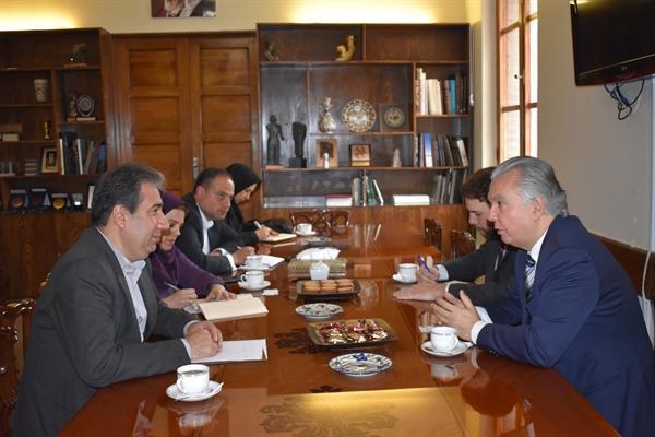 دیدار سفیر برزیل با مدیر موزه ملی ایران