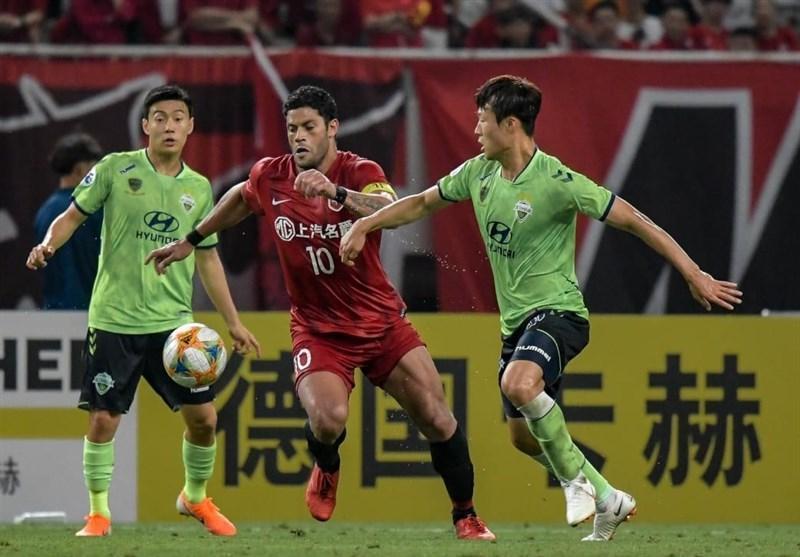 لیگ قهرمانان آسیا، تساوی مدافع عنوان قهرمانی در چین