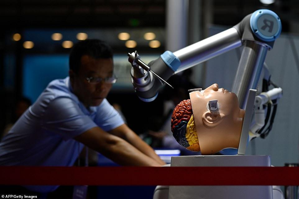 نمایش برترین روبات های دنیا در چین