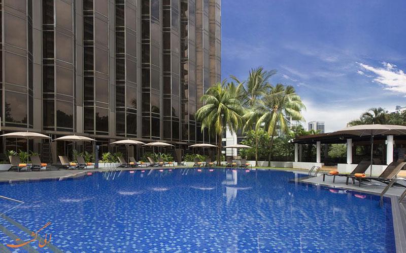 معرفی هتل 5 ستاره شرایتون تاورز در سنگاپور