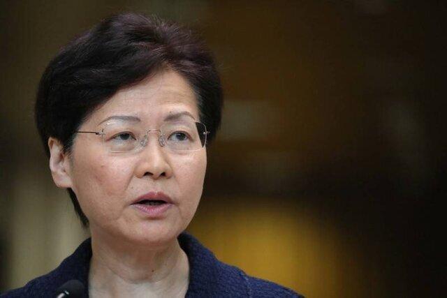 رهبر هنگ کنگ به شایعات درباره استعفایش سرانجام داد