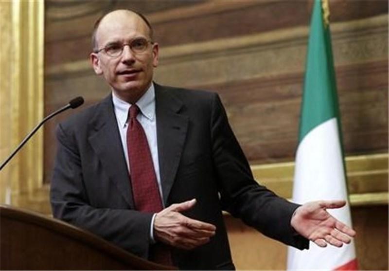 انریکو لتا خواستار پشتیبانی قوی اروپا از رشد مالی شد