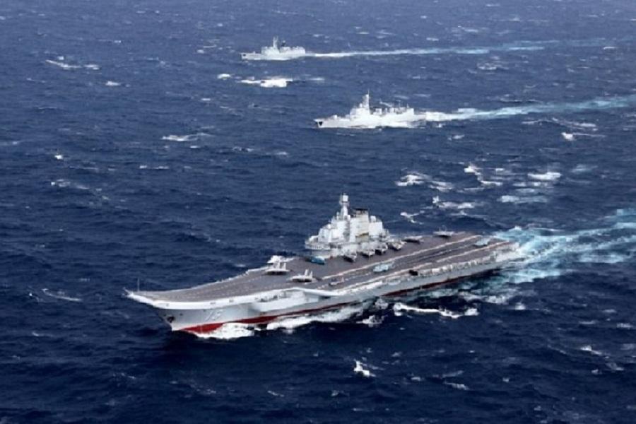 ناو های آمریکا و چین نزدیک بود با یکدیگر برخورد نمایند