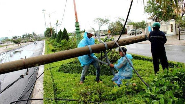 طوفان ویرانگر در ویتنام قربانی گرفت