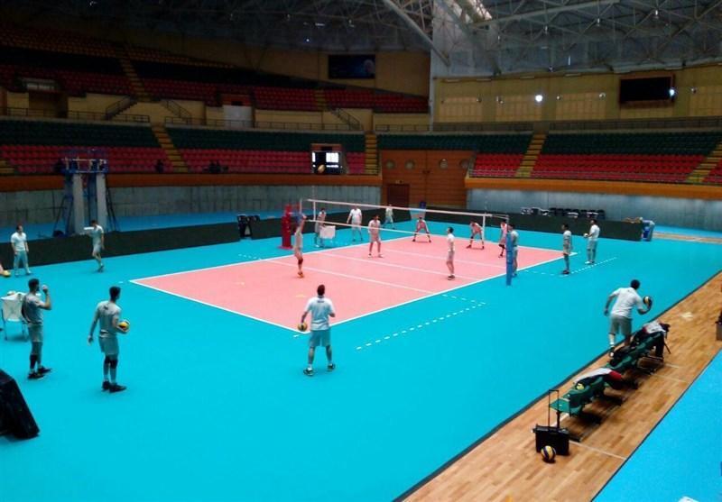 تیم های ملی والیبال تایلند، سریلانکا، مالزی، چین تایپه و استرالیا وارد اردبیل شدند