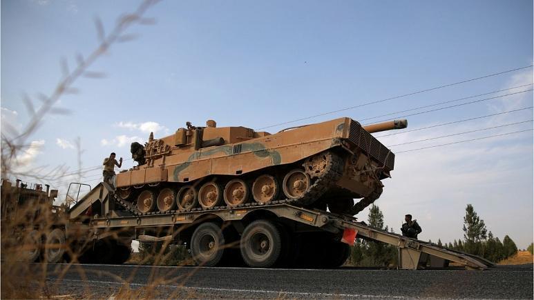 ترکیه: کرد های سوریه عقب نشینی نموده اند؛ نیازی به از سرگیری عملیات نیست