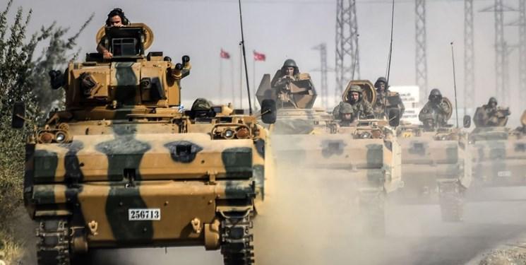 حمله ترکیه به جنوب راس العین در شمال سوریه