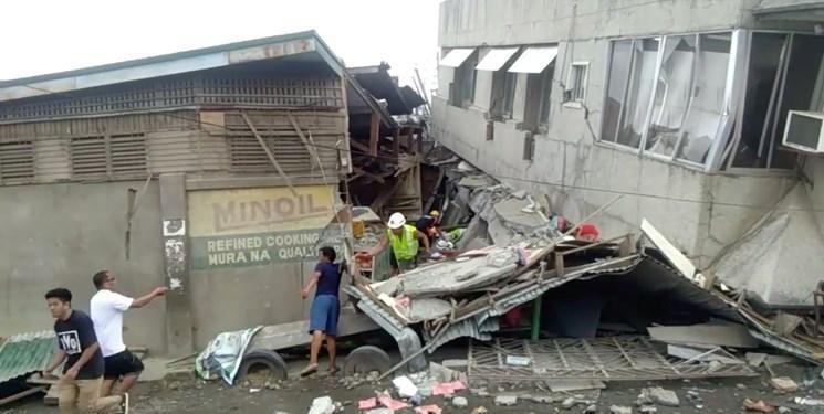 تصاویر، تلفات زمین لرزه فیلیپین به 7 نفر افزایش یافت