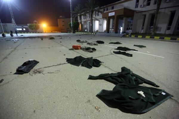 حمله به دانشکده نظامی طرابلس 66 کشته و زخمی برجای گذاشت