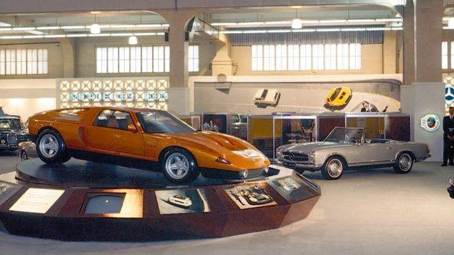 C111 شاهکار بنز که هرگز ساخته نشد