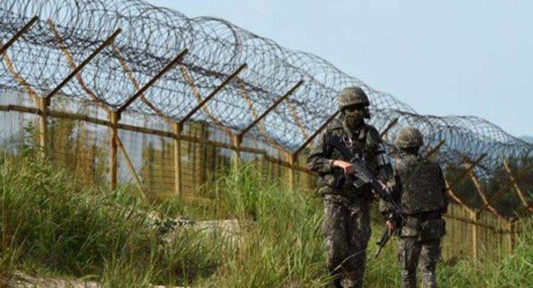 تبادل آتش در منطقه مرزی دو کره