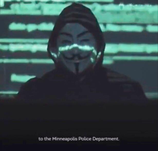 اعلام جنگ انانیموس به پلیس مینیاپولیس