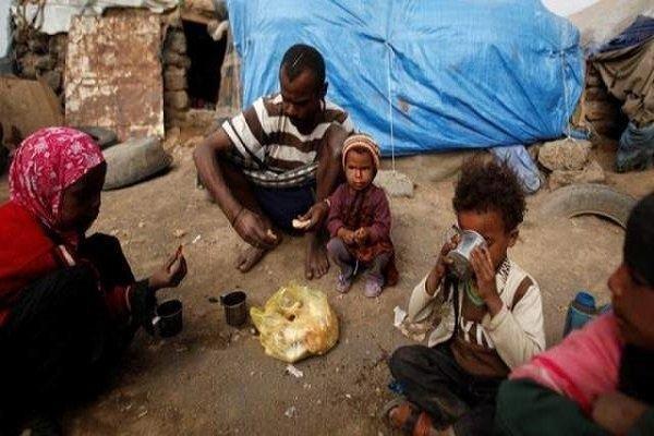 بیش از نیمی از مردم یمن چیزی برای خوردن پیدا نمی نمایند