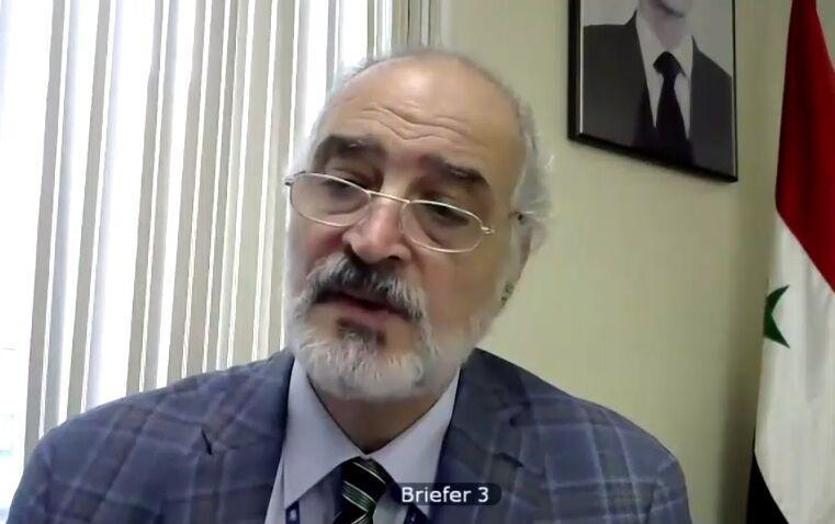 سوریه فرایند سیاسی شورای امنیت را به پایان اشغال خارجی منوط کرد