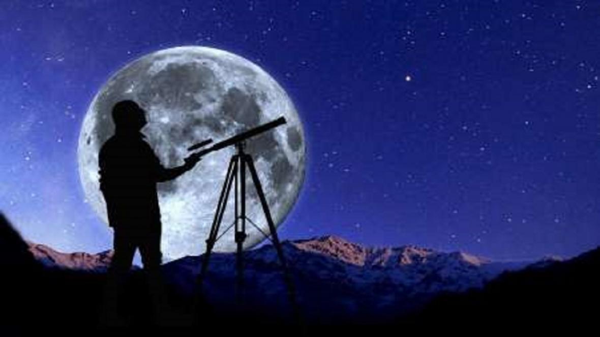 هم نشینی ماه و مشتری در آسمان بامداد فردا