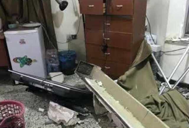 اصابت یک فروند موشک به شرکت امنیتی انگلیسی در بغداد