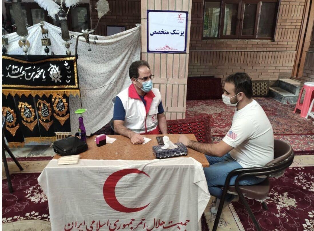 خبرنگاران ششمین کاروان سلامت راهی مناطق محروم کرج شد