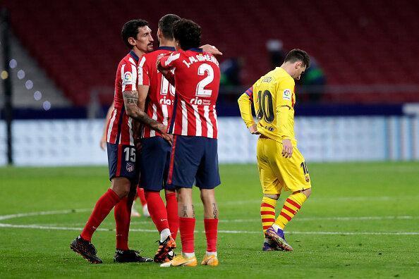 اتلتیکو شکست دیگری برای بارسلونا رقم زد
