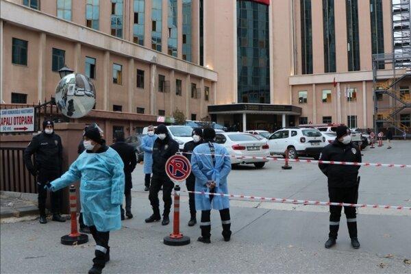 آتش سوزی در بیمارستانی در ترکیه، 8 بیمار جان باختند