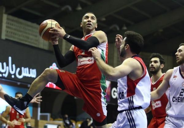 لیگ برتر بسکتبال، ثبت دهمین پیروزی متوالی مهرام