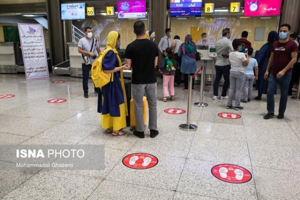 آمادگی برای اجرای پروتکل های سختگیرانه تر کرونایی در فرودگاه ها