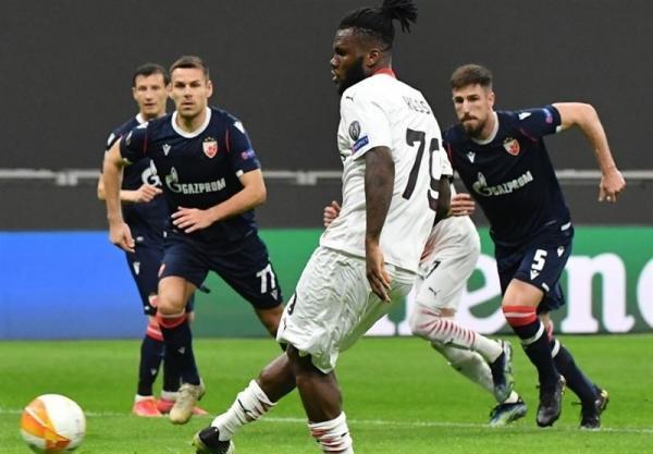 لیگ اروپا، صعود میلان، منچستریونایتد و رُم در شب حذف لسترسیتی، دینامو زاگرب در غیاب محرمی به یک هشتم نهایی رسید