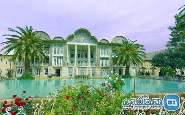 باغ ارم نگین باغ های شیراز است