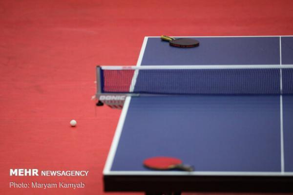 برنامه مسابقات انتخابی تیم ملی تنیس روی میز اعلام شد