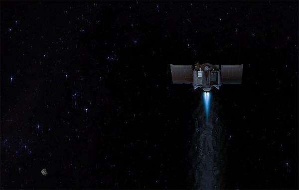 فضاپیمای اسیریس-رکس ناسا سیارک بنو را به مقصد زمین ترک کرد