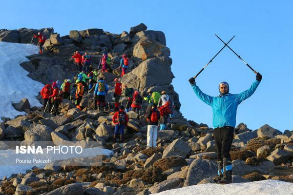 صعود به قله یخچال، تصاویر