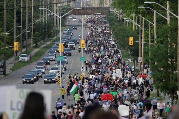 تور کانادا: تظاهرات مردم کانادا در حمایت از مسلمانان