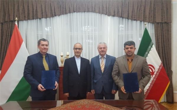 ایران و مجارستان تفاهم نامه تیراندازی امضا کردند
