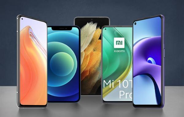 10 گوشی موبایل 5G برتر بازار از 5 تا 25 میلیون تومان (خرداد 1400)