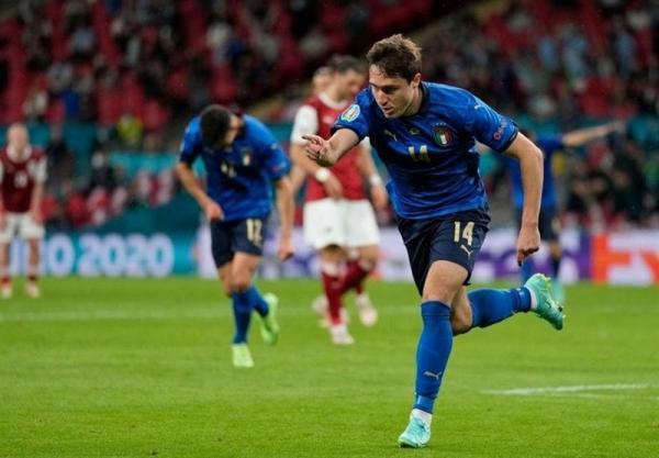 یورو 2020، تاریخ سازی کیه زا با گلزنی در شب پیروزی ایتالیا برابر اتریش