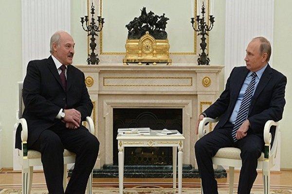 تاکید پوتین بر ادامه یاری های همه جانبه مسکو به بلاروس