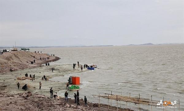 اجرای برنامه احیای اکوسیستم جزایر دریاچه ارومیه