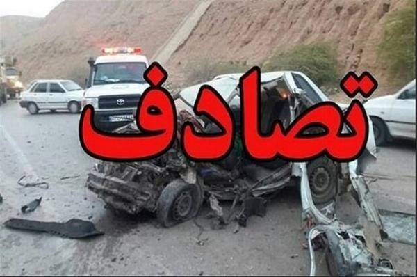 سانحه رانندگی در محور اهر، تبریز، یک کشته و 3 مصدوم برجای گذاشت