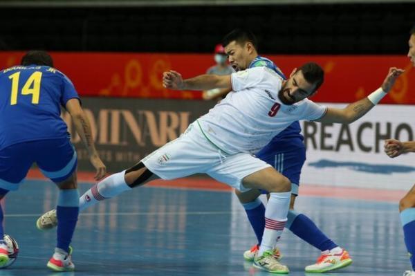حذف ناباورانه ایران از جام جهانی فوتسال، شوک قزاقستان با سه گل!